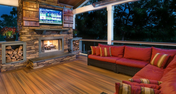 18+ Rustic Deck Designs, Ideas | Design Trends - Premium PSD ...