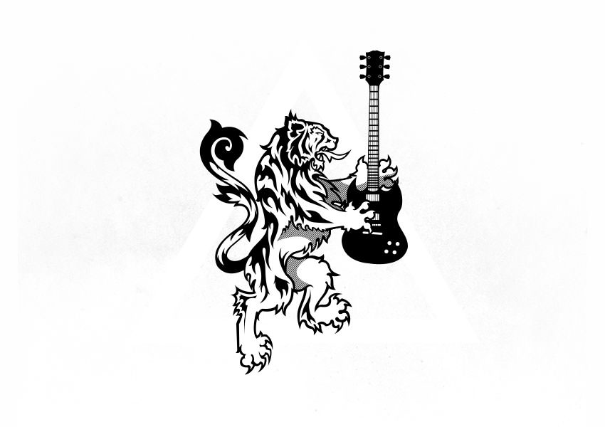 guitar logo designs17