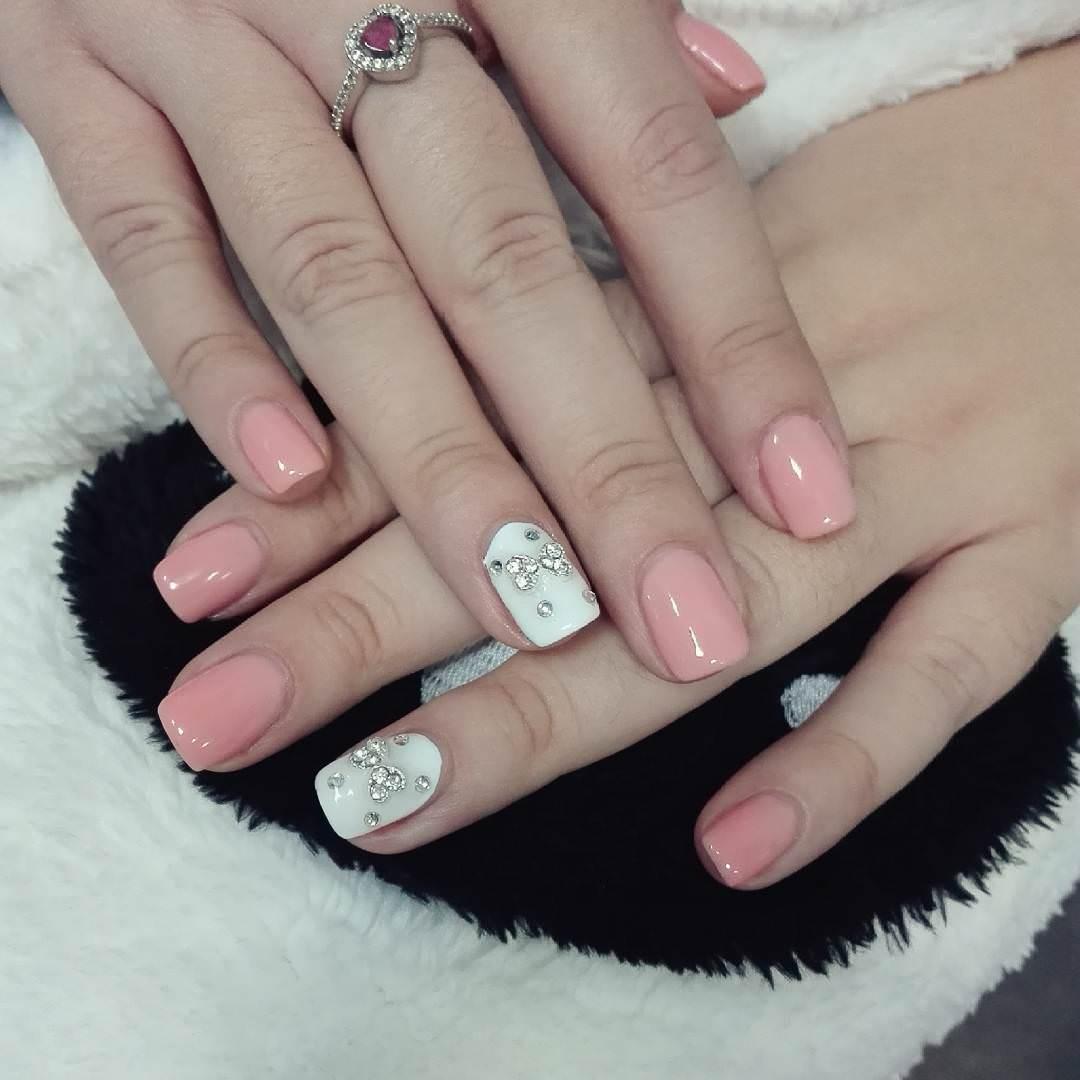 30+ Bow Nail Designs | Nail Designs | Design Trends - Premium PSD ...