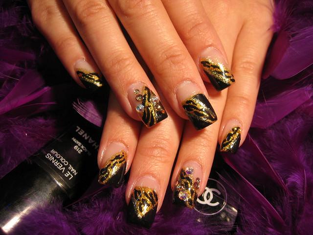 Lovely Leopard Nail Design
