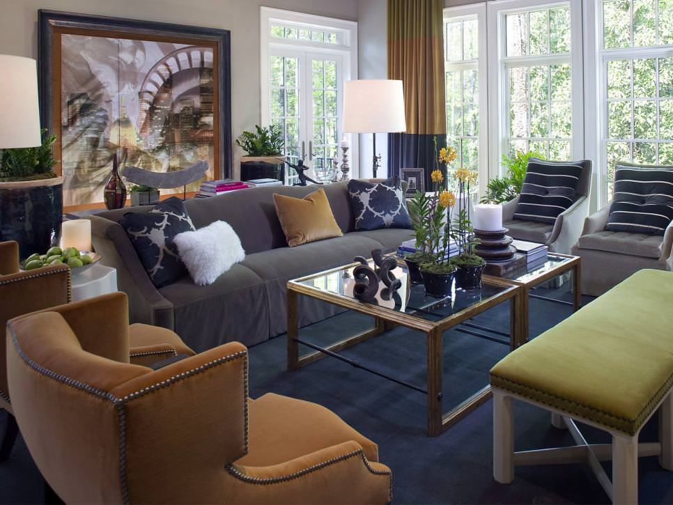 Contemporary Candice Olson Living Room