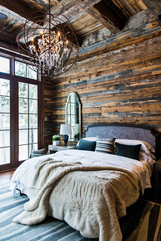 Rustic French Bedroom Design