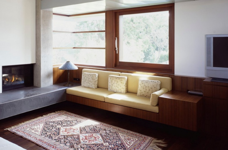 modern window seat design