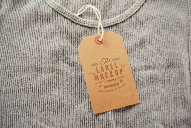 Label Mockup Free Download
