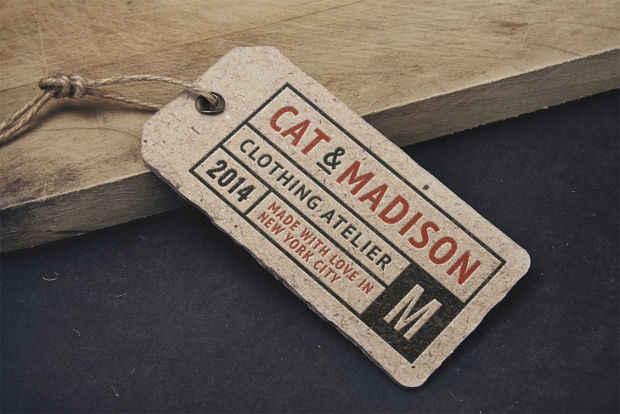 Fully Editable PSD Vintage Branding Mockup