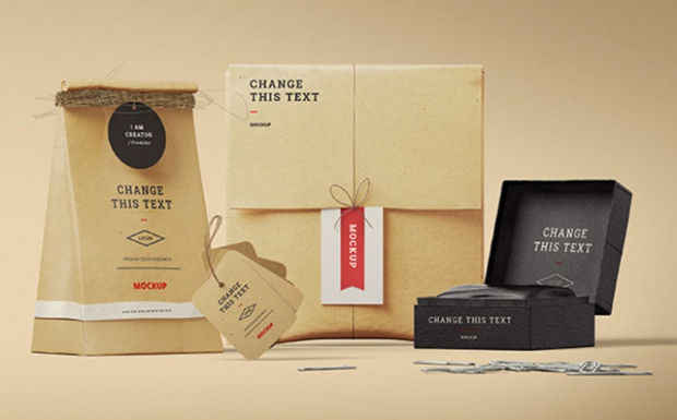 Branding Presentation Label Mockup