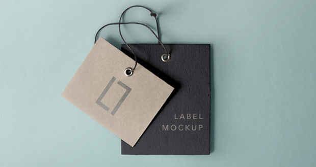 Elegant Label Brand Mockup