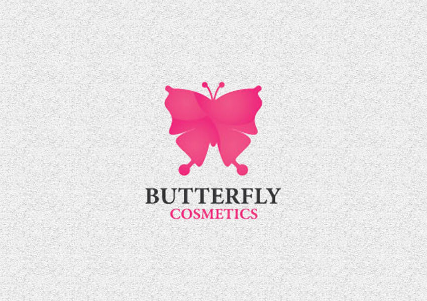 butterfly cosmetics designs