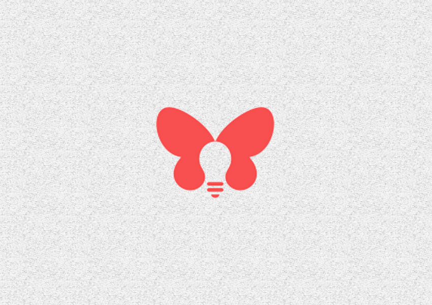Butterfly Bulb Logo Designs,Creative,Bulb,Butterfly