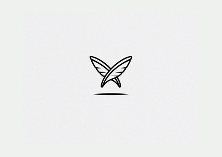Butterfly,Logo,Designs,Feathers