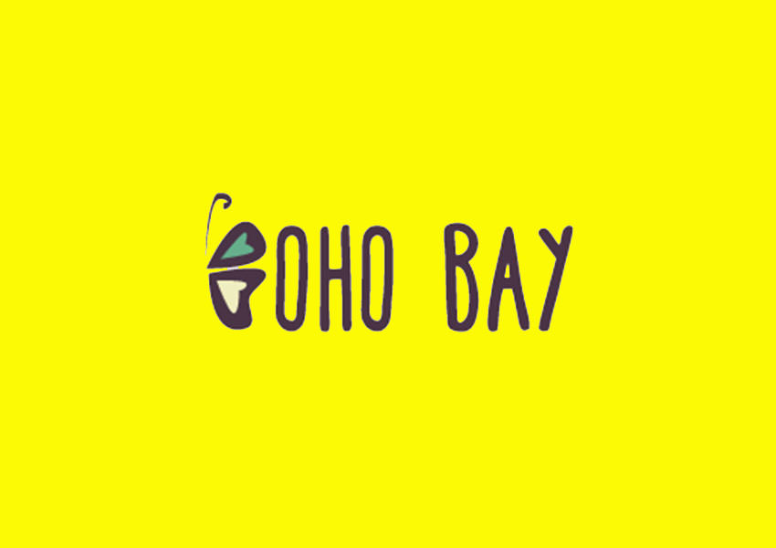 boho bay logo design
