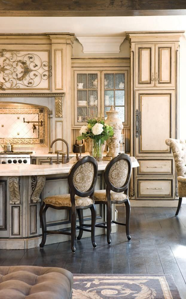 31 french kitchen designs kitchen designs design for French country kitchen designs photos