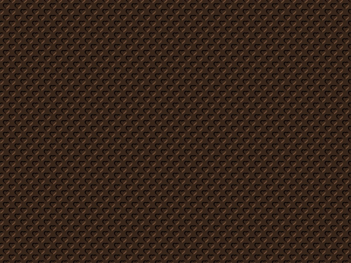 Chocolate Brown,Hearts,BackgroundsPatterns