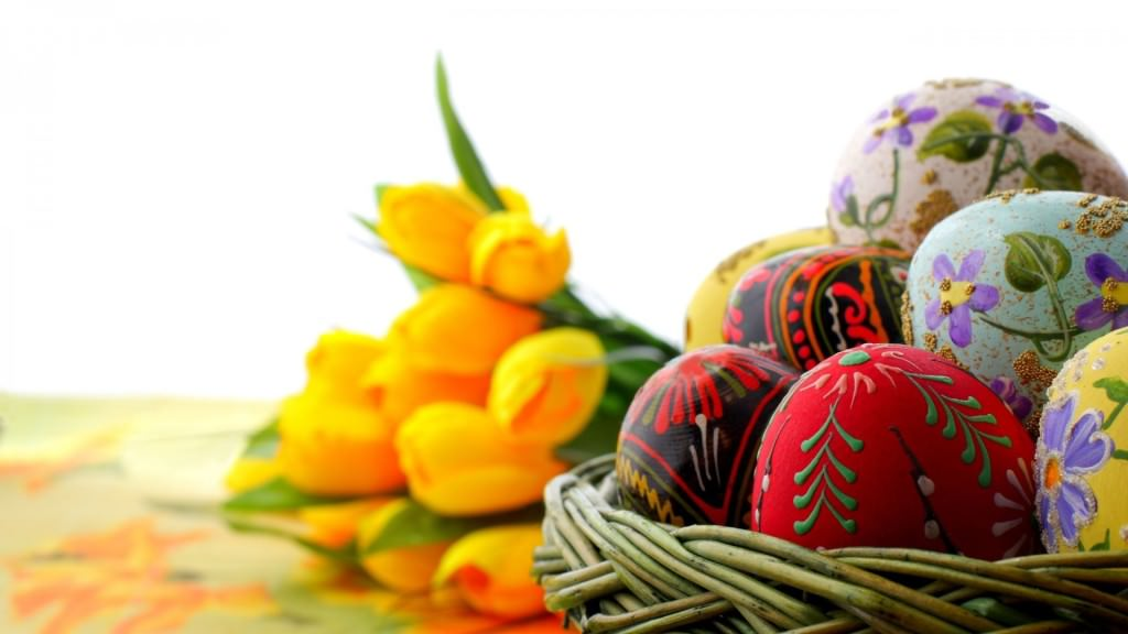 Easter,Egg,Tulip,Background,Designs,Basket,Eggs,Artwork