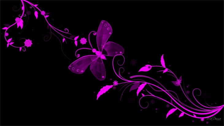 purple-butterfly-background