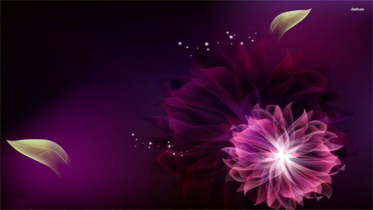 purple-floral-background-4