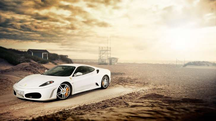 Cool,Car,Background,Designs,White,Beach