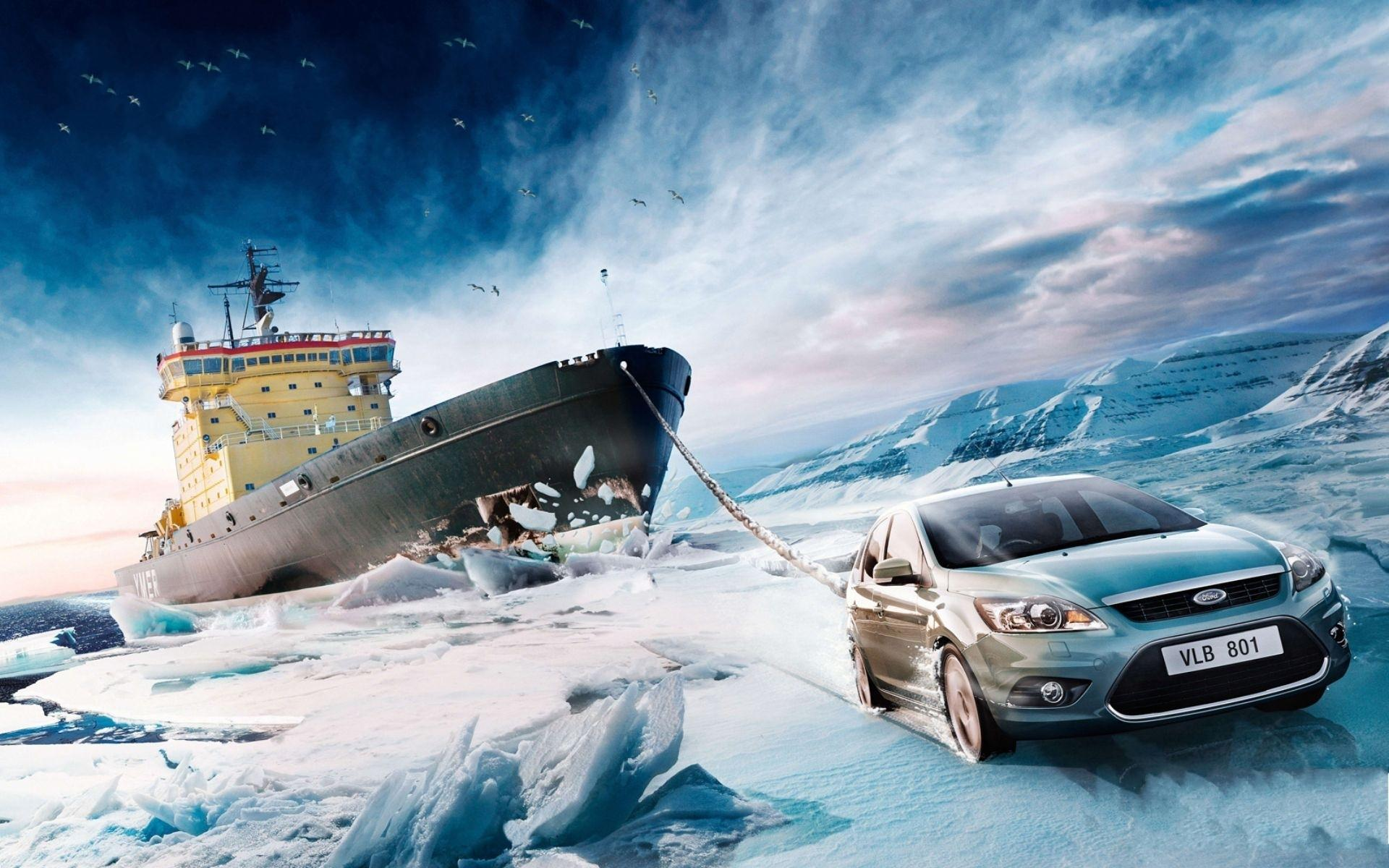 Car,Background,Designs,Ice,Ship