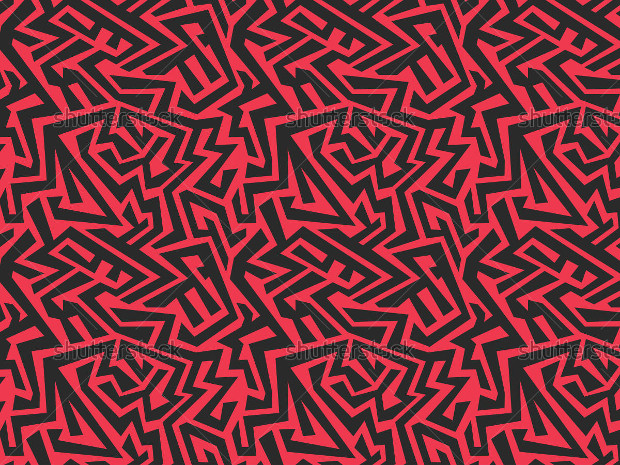 Seamless Red Pattern Design