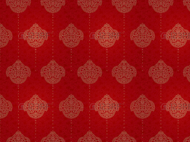 Traditional Red Pattern Design