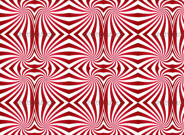 Seamless Red Swirl Pattern Design