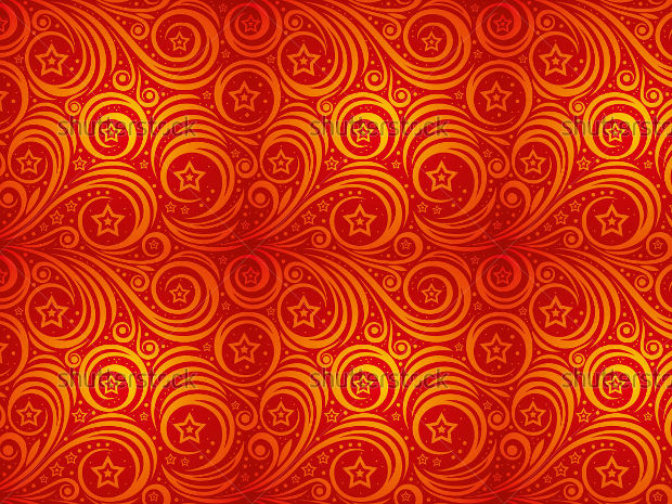 Red Swirl Pattern Design
