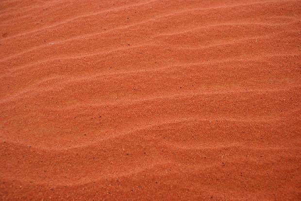 Desert Red Sand Texture