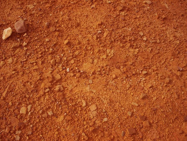 red sand texture