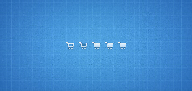 Shopping Cart,Icons,Blue