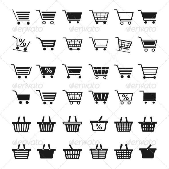 Shopping Cart,Icons,Basket
