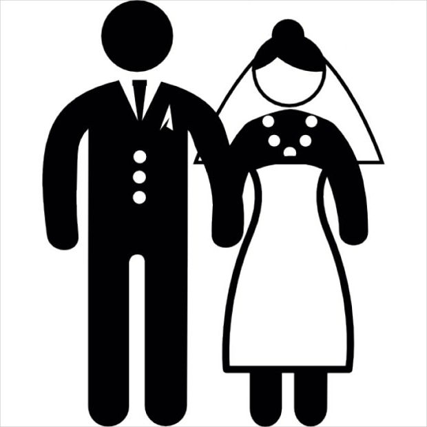 marriage couple icon