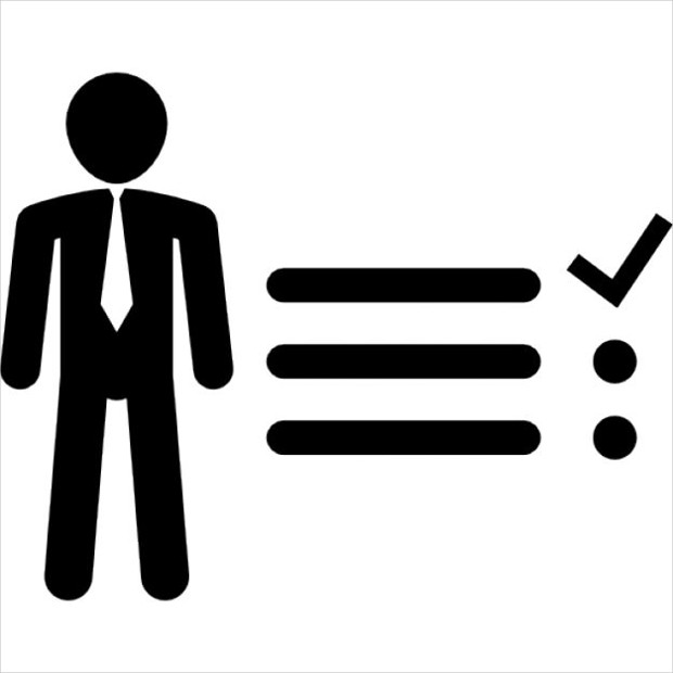Businessman Tasks Icon