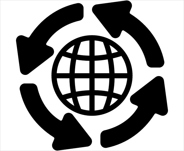 Global Distribution Grid Icon