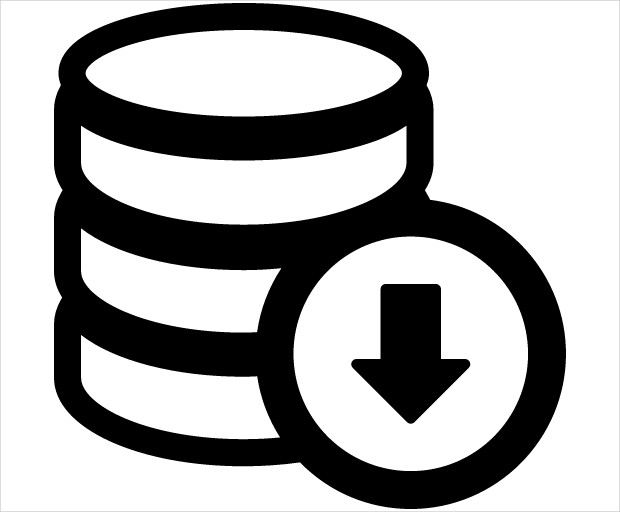Database Download Icon