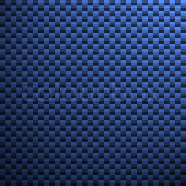 Blue small Carbon Fiber Texture