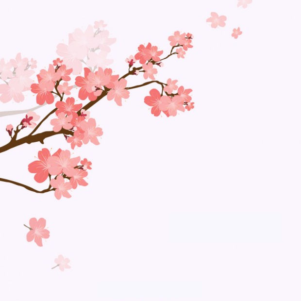 Spring Blossoms Vector