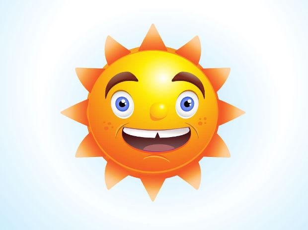 sun character vector