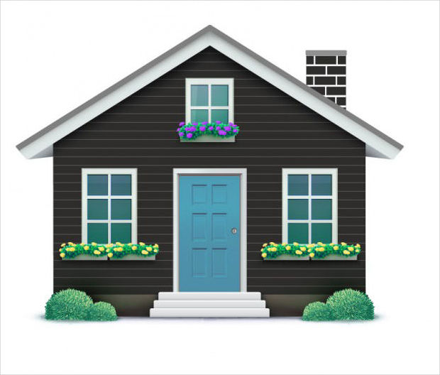Cute House Vector