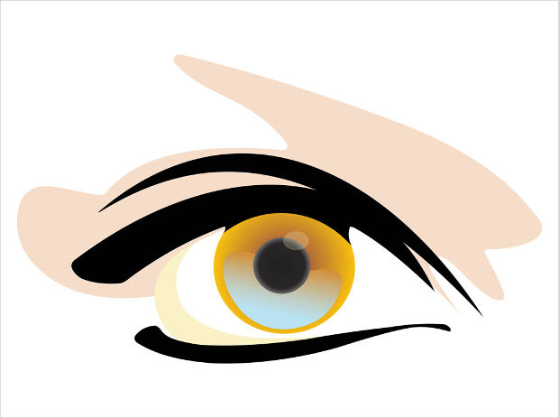 Glossy Eye Vector