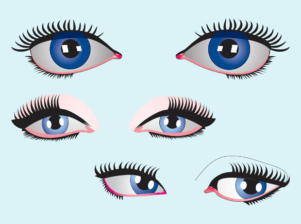 Blue Eyes Vector Design
