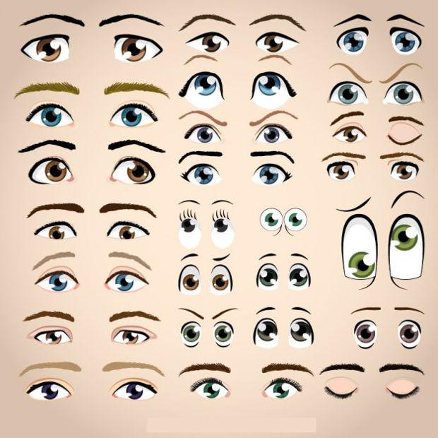 eye illustration vector