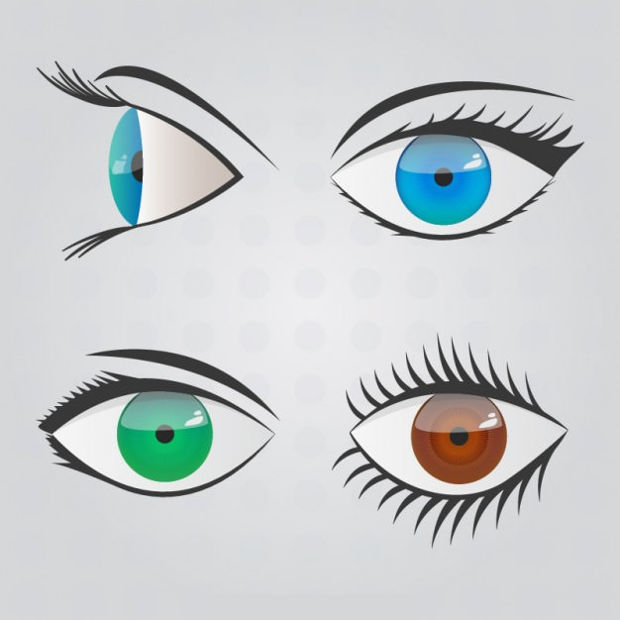 Eye Scribble Vector Design