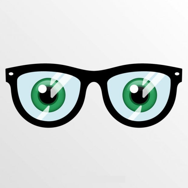Eye Glasses Vector Design