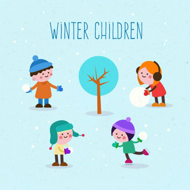 Children Character Vector