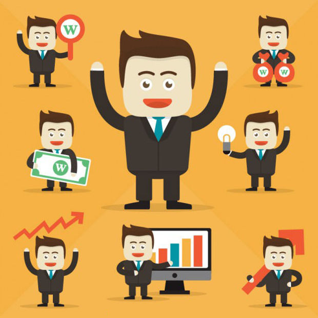 Businessman Character Vector