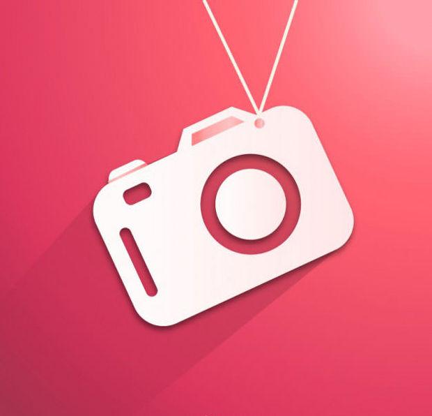 Flat Camera Vector