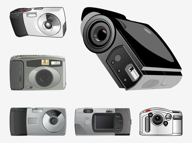Simple Camera Vector