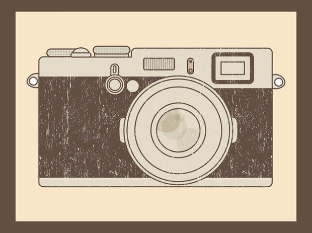 Cool Camera Vector