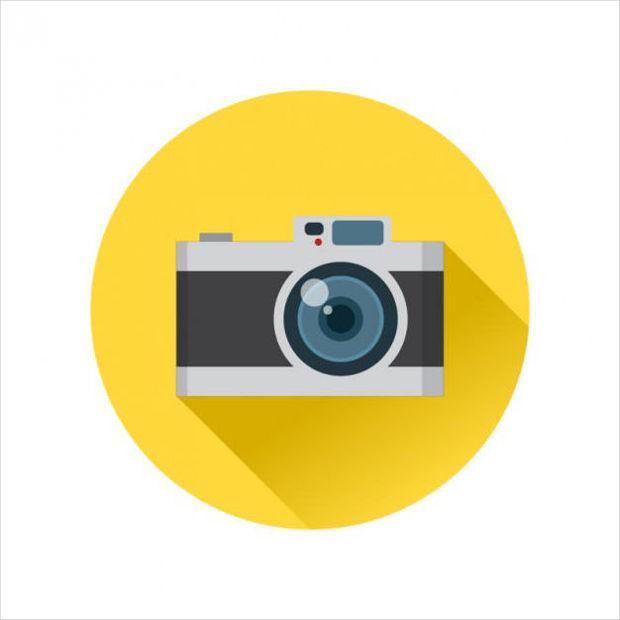 Analog Camera Vector