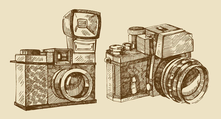 Camera Vintage Vector Png : Camera vectors eps png jpg svg format download design